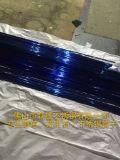 惠民304不锈钢圆管拉丝宝石蓝80*0.8mm