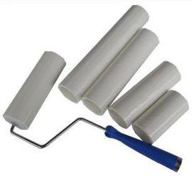 粘尘滚筒生产厂家 可撕式pe粘尘滚筒白色4寸6寸8寸10寸12寸除尘滚筒厂家