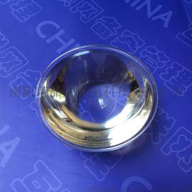 厂家供应平凸透镜加工定制工矿灯玻璃透镜 4件套一件代发