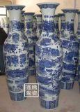 陶瓷花瓶,手绘青花陶瓷大花瓶