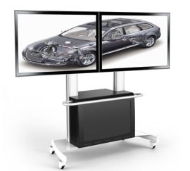 会议室电视机移动支架,会议室电视机落地挂架,电视机落地移动推车