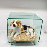 供應狗窩夏季新款寵物窩透明亞克力狗窩小型寵物窩泰迪定做廠家