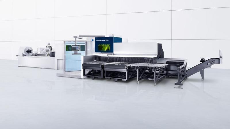 德國通快光纖鐳射切管機 TruLaser Tube 7000 fiber