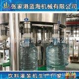全自動灌裝機 新款1000桶3-15升純淨水灌裝生產設備 桶裝水灌裝機