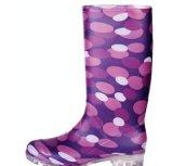 印花女式PVC雨鞋