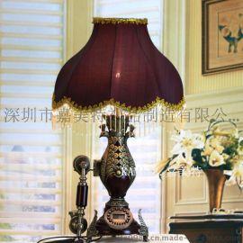 欧式台灯家用台灯 落地灯 卧室台灯 落地灯