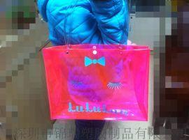 (专业工厂)厂家批发精美PVC手提购物袋 PVC环保购物袋 可印刷LOGO 量大从优