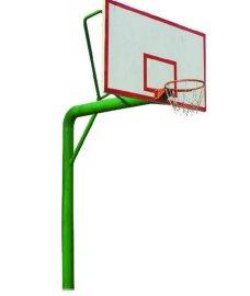 内蒙古自治区地埋圆管篮球架 篮球架经销 户外健身器材价格品牌