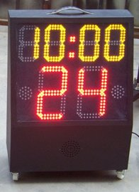 篮球24秒计时器广鸿移动篮球24秒**器无线24秒篮球计时器