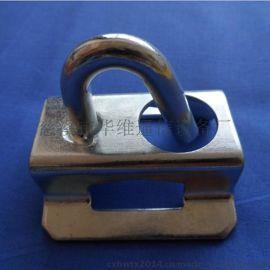 紧箍拉钩 环形拉钩 S型固定件 自承式光缆架空支撑铁辅件厂家直销