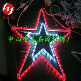 LED造型灯,圣诞灯,白色五角星