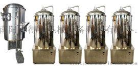 300升一拖四银色精酿啤酒设备