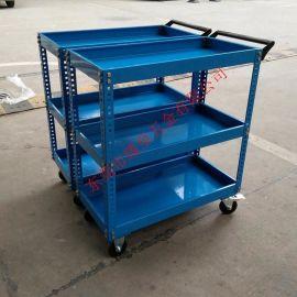 厂家直销三层手推工具车 拆装式厚料工具车