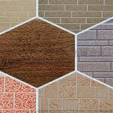 仿磚紋樹紋大理石外牆裝飾板金屬雕花聚氨酯夾芯 防水防火建材