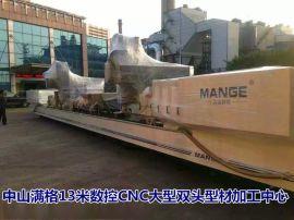 MG-CNC13000双头型材复合加工中心(航空航天、船舶零部件专用)