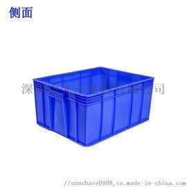 周转箱加厚物流箱子大号塑胶框收纳工具箱带盖周转箩筐
