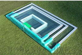 钢化玻璃篮板 SMC篮球板 复合篮板