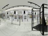 快时尚品牌女装货架品牌女装专卖展示架