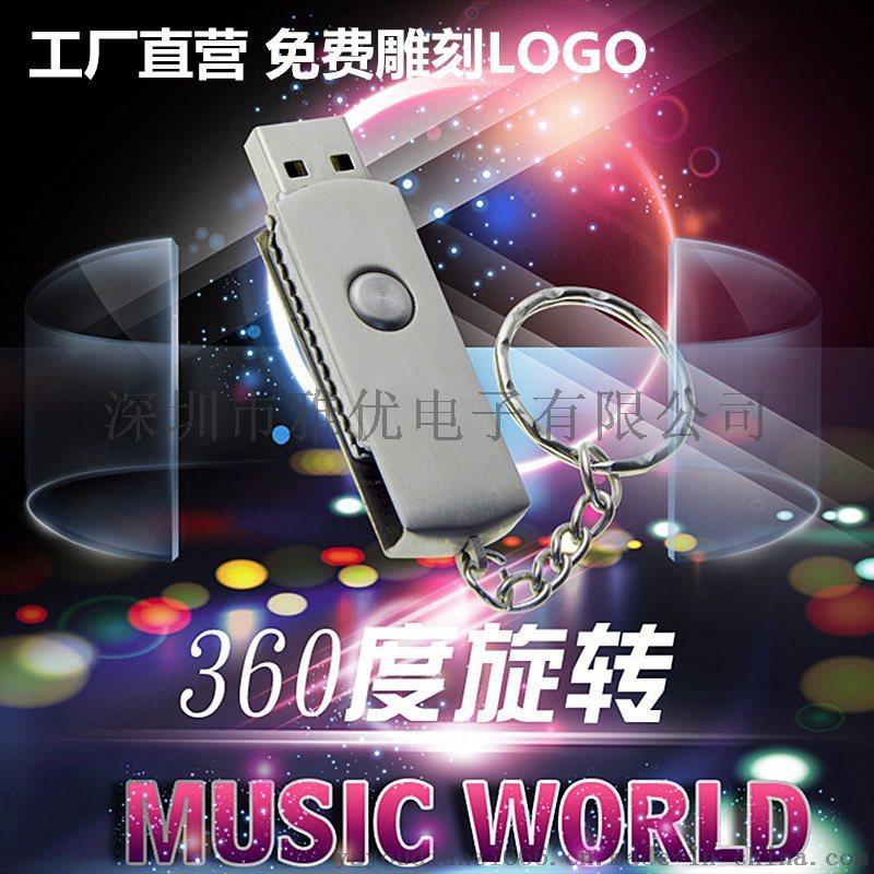 金属u盘 广告礼品u盘  USB閃存盤 u盘定制