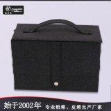 东莞美易达厂家直销手提皮质化妆箱可定制公司设计