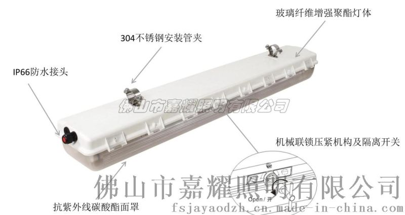 飞利浦LED双支防爆灯WT980 2X16W20W