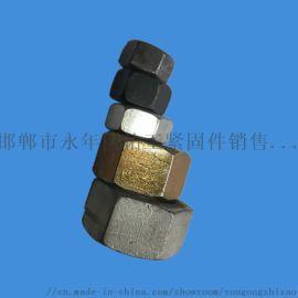高强度六角螺母 机械工厂通用45钢号
