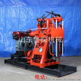 液压百米钻机 100米工程钻探机 柴油机地质钻探