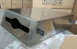 不锈钢擦手纸箱 安装在镜子后面的纸巾盒
