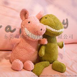 毛絨公仔微笑大牙玩具東莞MY-1003動物公仔