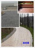 曲水压模混凝土创造路面奇迹