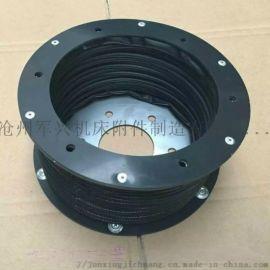 无尘油缸专用圆筒式防护罩 防油 防尘 丝杠保护套