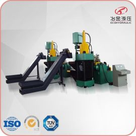 供应江阴冶金液压SBJ-630吨粒子钢压块机