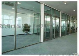 深圳玻璃房, 深圳玻璃牆, 深圳吊軌移動玻璃門, 辦公室隔斷製作安裝維修中心