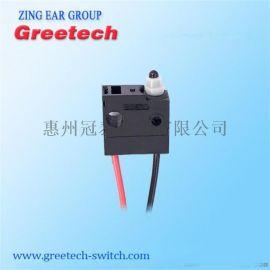 zing ear汽车门锁 防水微动开关有定位孔3A