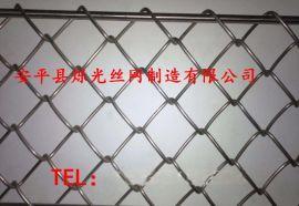 镀锌菱形勾花网 热镀锌菱形孔铁丝网规格