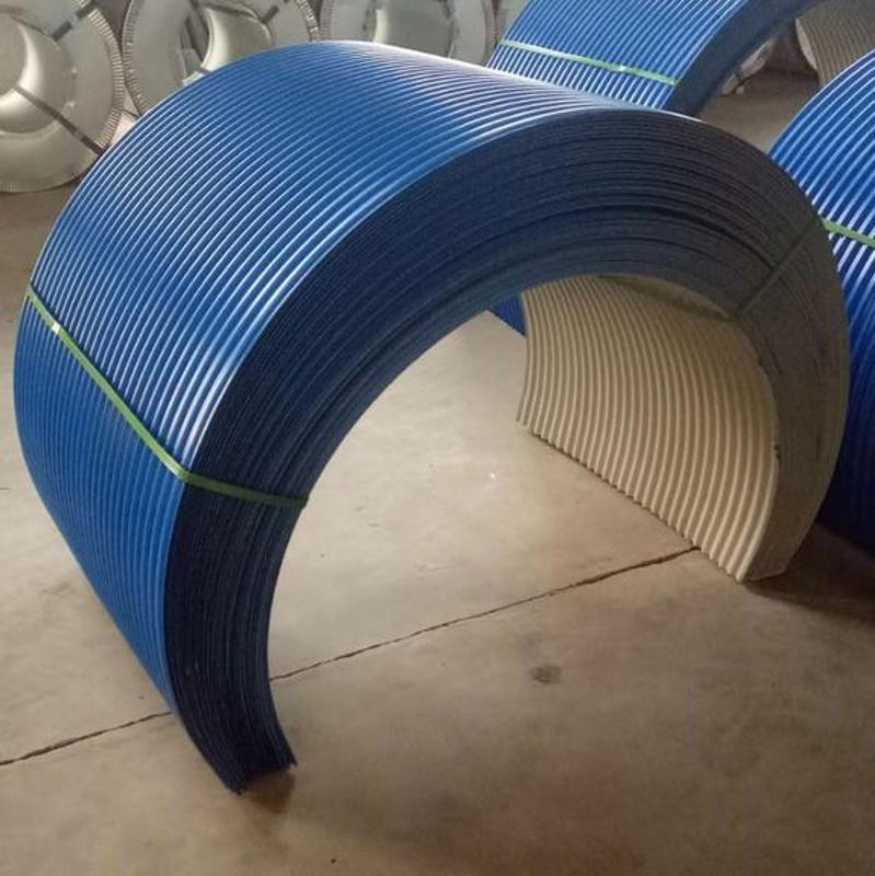 YX10-32-864型 碳噴塗波紋板皮帶走廊板