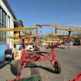 廠家定製指盤摟草機 8盤牽引式摟草機 內蒙地區 新疆地區 牧草秸