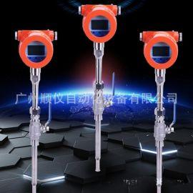 供应电子式热式质量流量计、顺德压缩气体流量计