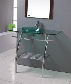 玻璃台盆(B-031)
