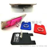 新款硅胶指环支架卡套 硅胶手机贴