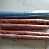红色矽胶风管注塑机热风管汽车尾气吸排管