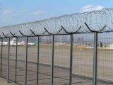 定做监狱护栏网,边框护栏网防爬刀片护栏网