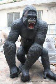 猩球崛起凯撒雕塑猩猩雕塑报价