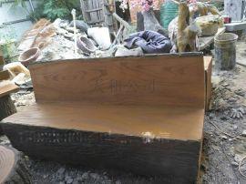 水泥制品 水泥座椅 水泥仿木垃圾桶