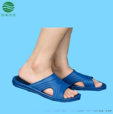 厂家直销无尘防静电拖鞋 spu材质无尘车间拖鞋 防静电拖鞋批发