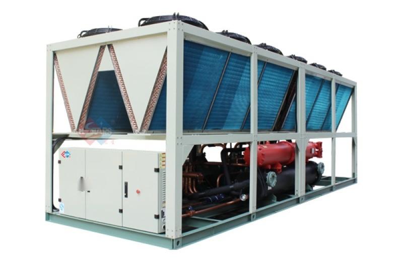 低温环境螺杆风冷热泵机组