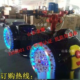 玻璃钢LED电动摩托车 **电动摩托车 可定时遥控