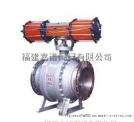 气动固定式球阀 Q647F-16C/25/40