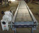 304不锈钢网链耐高温输送机流水平板链板挡板传送带