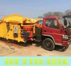 青海海西混凝土喷浆车怎么选择喷浆机钢衬板
